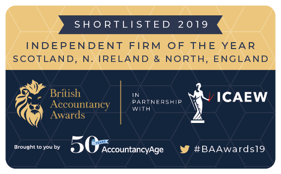 Shortlisted for Independent Firm of the Year